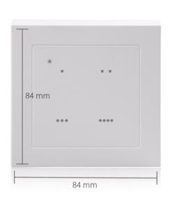 Smart Home Steuerung SSW-S1 von Blaupunkt mit Maßen