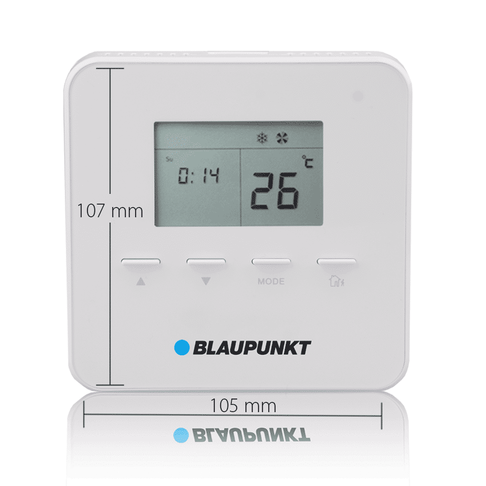 blaupunkt smart home thermostat tmst s1 mit massen blaupunkt sicherheitssysteme authorized. Black Bedroom Furniture Sets. Home Design Ideas