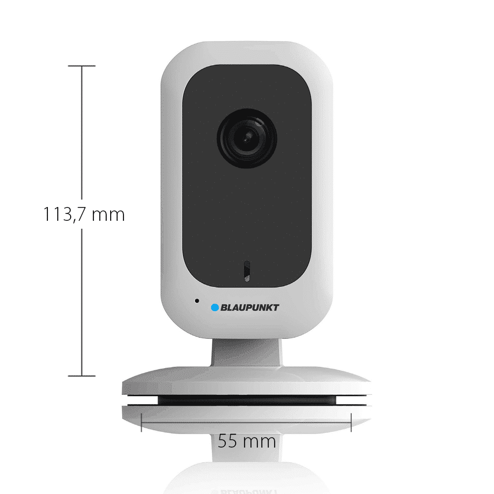 Blaupunkt Videoüberwachung H30 für den Innenbereich mit Maßen